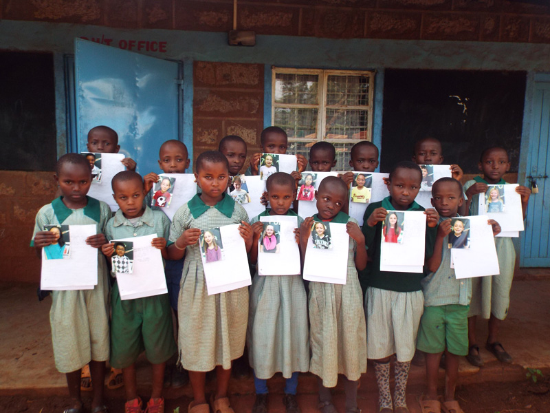 Pen Pal Program with St. John's Lutheran School Children